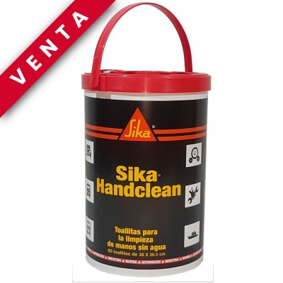 SIKA  HANDCLEAN 90 TOALLITAS  Pack 6 Unds.- Venta