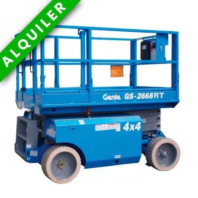 GENIE-GS 2668 DIESEL ALTURA DE TRABAJO 10 MTS Autonivelante 4x4