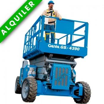GENIE-GS 4390 DIESEL ALTURA DE TRABAJO 15 MTS Autonivelante