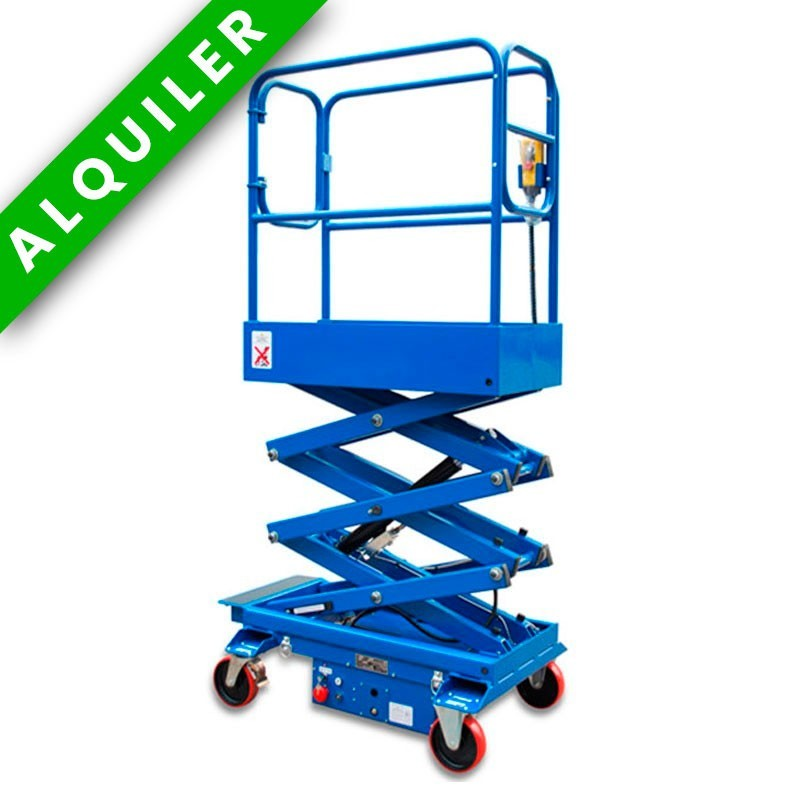 HU LIFT ES35TC MANUAL ELECTRICA DE ALTURA DE TRABAJO 5.5MTS