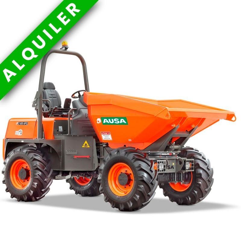 AUSA D600 APG DUMPER ARTICULADO GIRATORIO  4x4  6.000 KGS