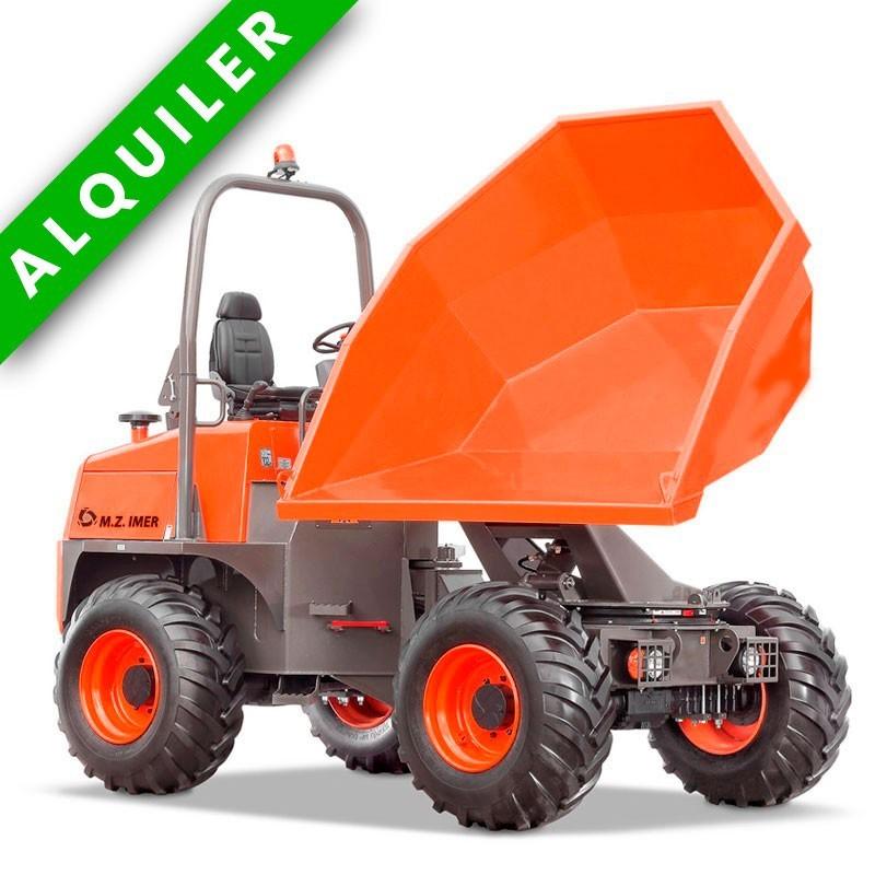 MZ 9000 HDG DUMPER ARTICULADO FRONTAL  4x4 9.000 KGS