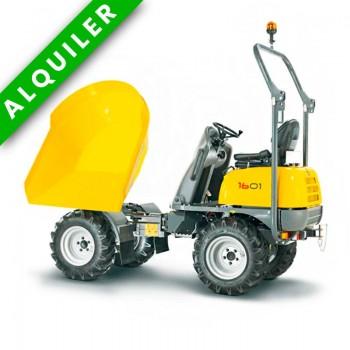 WACKER NEUSON 1601 2WD DUMPER 4X2 1600 KGS