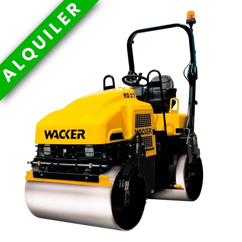 WACKER NEUSON RD 27-1200 RODILLO HOMBRE SENTADO 2.400-2.700 KGS