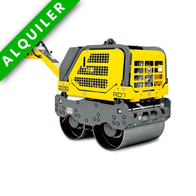 WACKER NEUSON RD 7H RODILLO TANDEM MANUAL