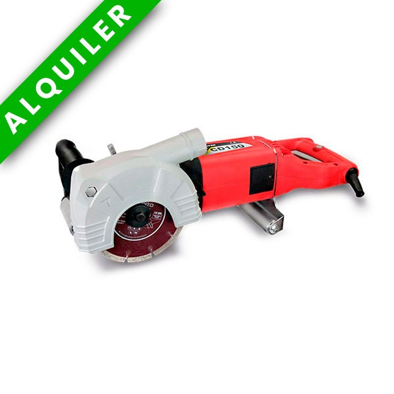 ROZADORA CON DISCO Y ASPIRADOR STAYER CD150