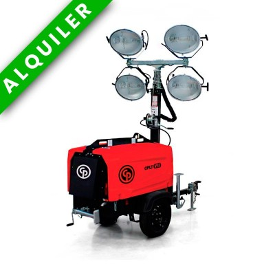TORRE ILUMINACION CON GENERADOR 20 Kva Chicago Pneumatic-CPLT V15 LED