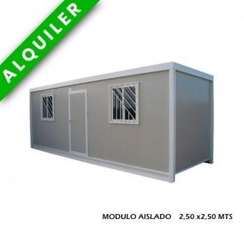 MODULO AISLADO 2,50 x2,50 MTS